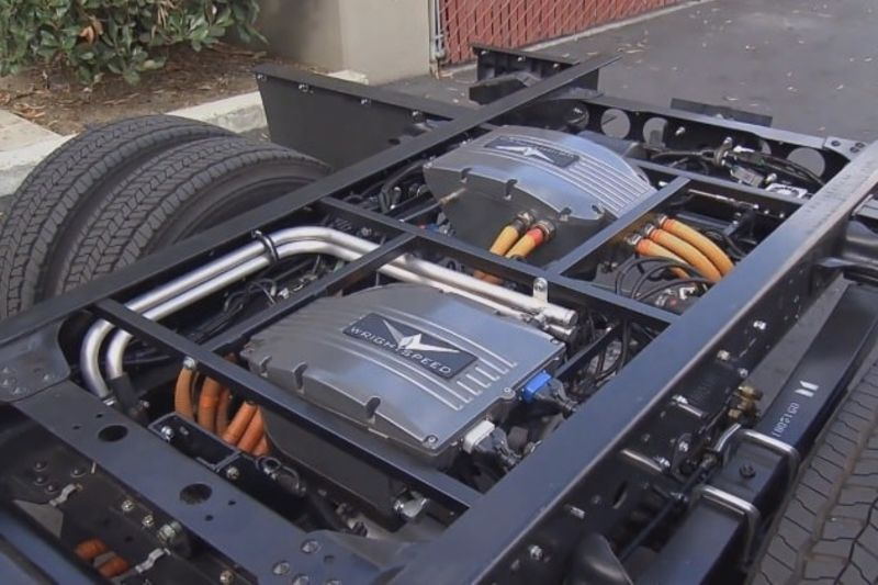 Video: Electric Truck Conversion System Powered By Lithium 1