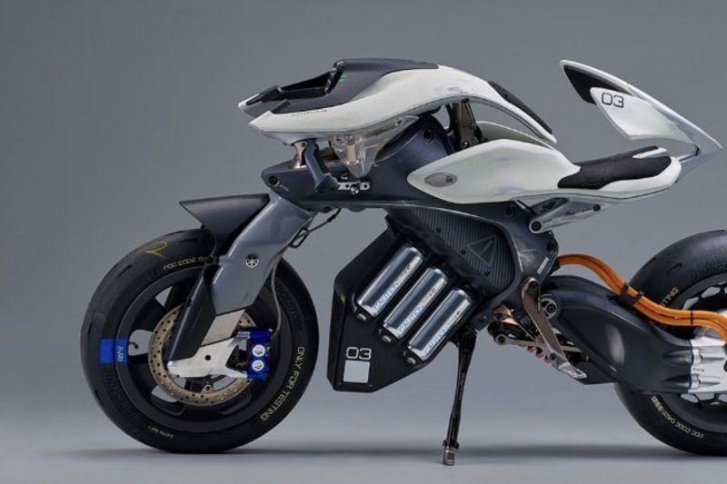 Video: Yamaha All-electric, Semi-autonomous Motor, The Motoroid 1