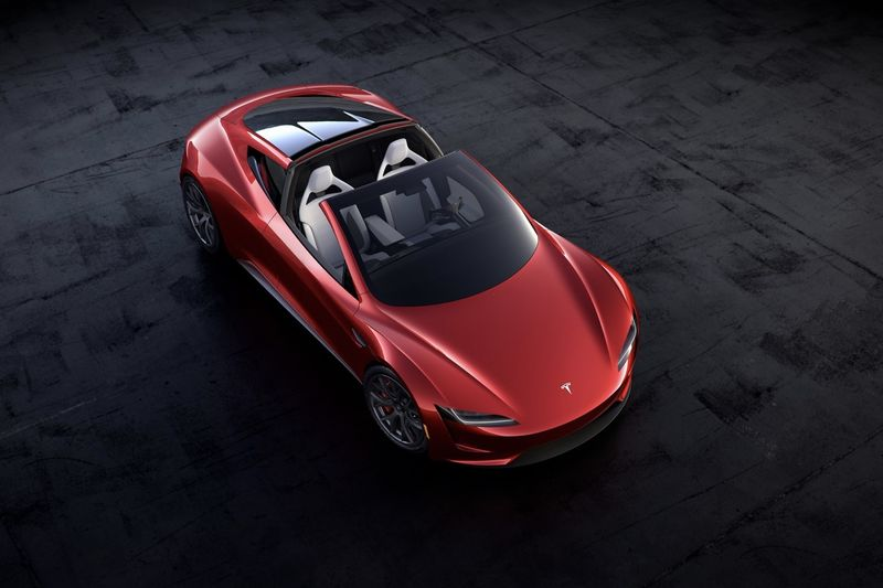 Video: New 2020 Tesla Roadster Unveiled By Elon Musk 1