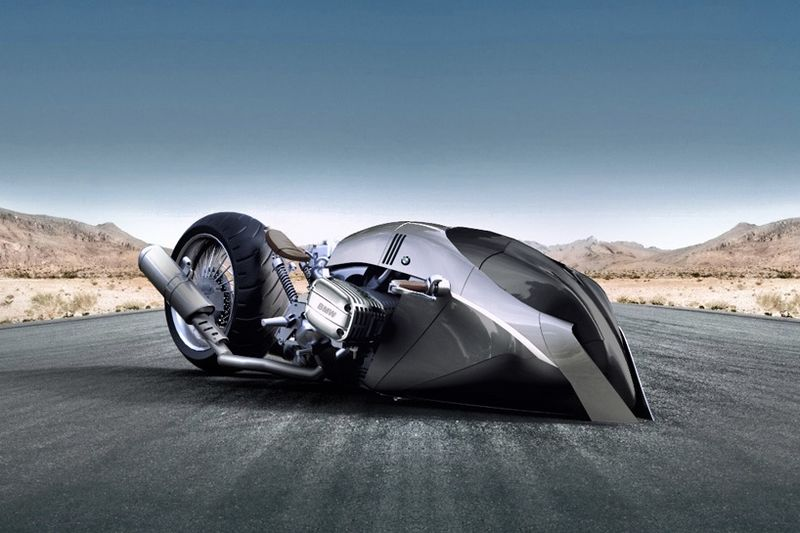 Bmw R1100 Khan Concept Looks Like A Blade Runner Prop 1