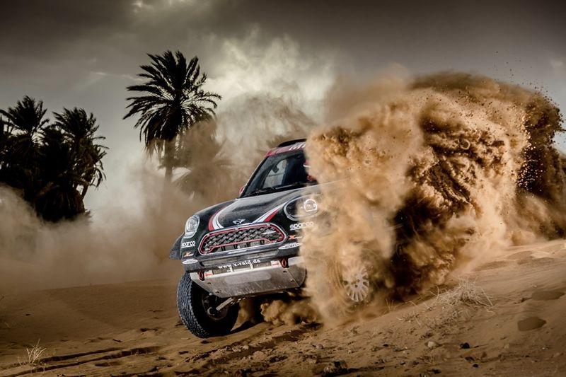 Video: Mini Meets Rally Vehicles, Ready For Dakar 2018 1