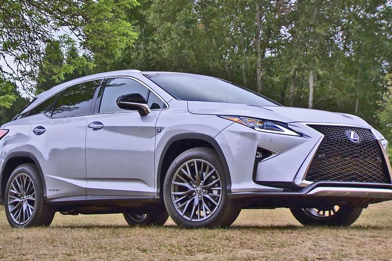 Video: The Lexus 450h Suv Gets A Sporty New Make Over! 1