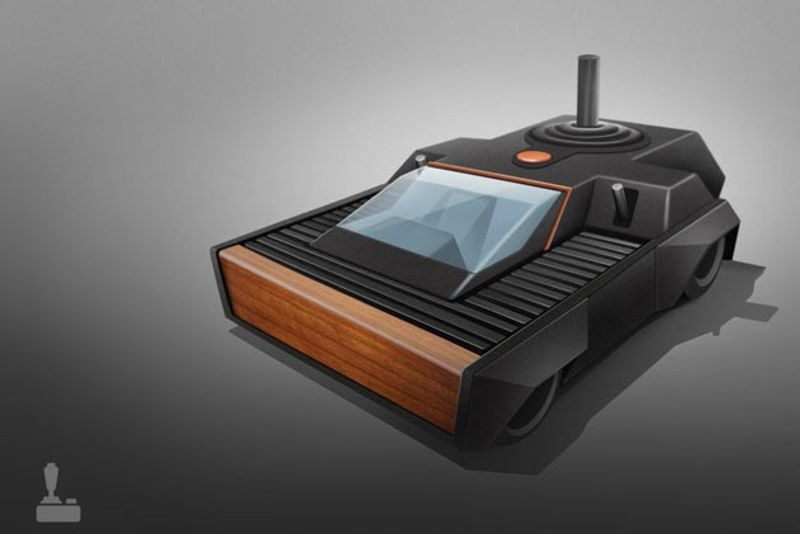 8 Iconic Game Consoles Reimagined As Cars 1