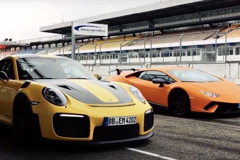 Video: Porsche 911 Gt2 Rs Vs. Lamborghini Huracan 1