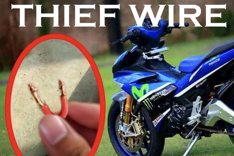 Video: A Piece Of Wire Can Be Used To Steal Your Scooter In Less Than 6 Seconds! 1