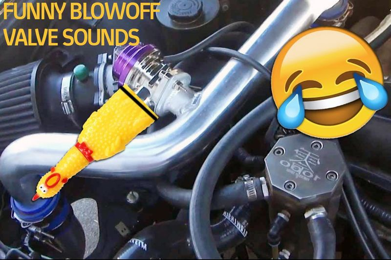 Video: Funny Blow Off Valve Sounds 1