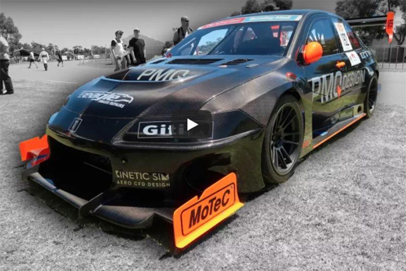 Video: 800hp, 1000kg, Fully Carbon Fibre Mitsubishi Evo – It