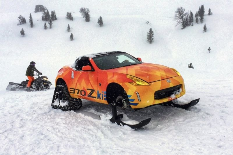 Video: Snowy Just Got A Whole Lot Sportier! 1