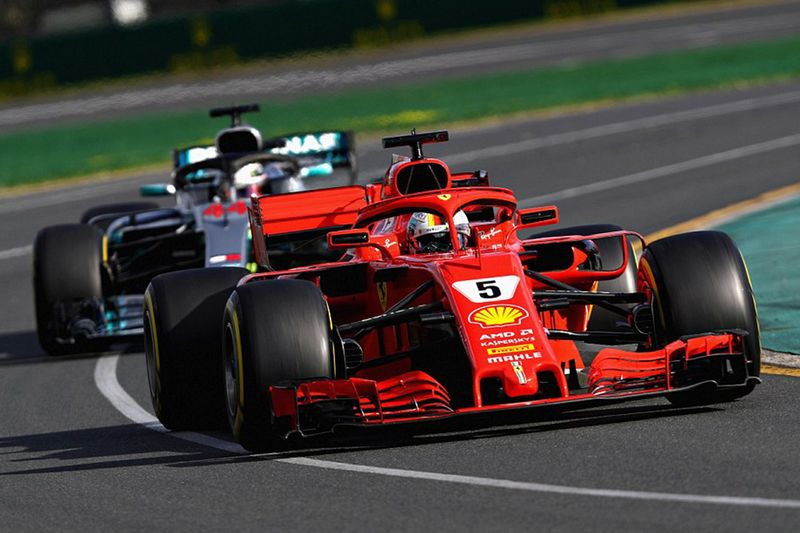 Vettel Puts Hamilton In His Place With A Ferrari Victory 1