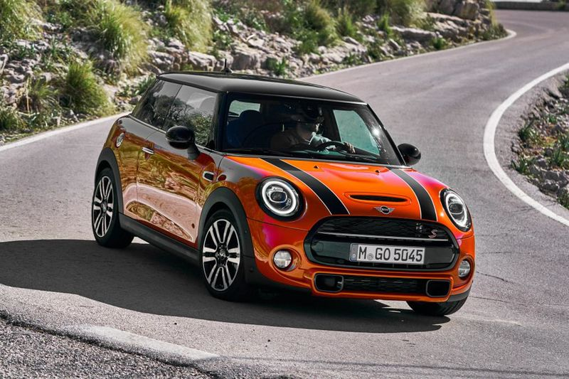 New Mini 2018 Facelift 1