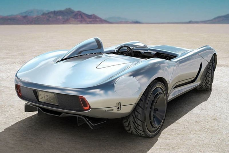 Hackrod Designs The First Fully 3d Printed Bespoke Speedster 1