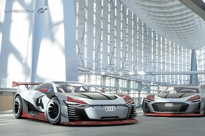 The Audi E-tron Vision Gran Turismo Is Track-ready 1