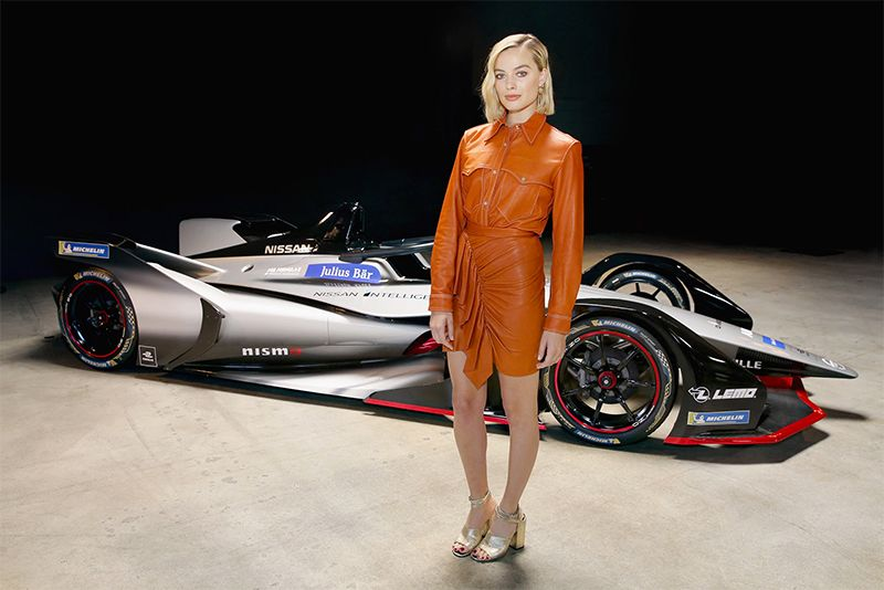 Harley Quinn Goes Green And Boosts Nissan's New Formula E 1