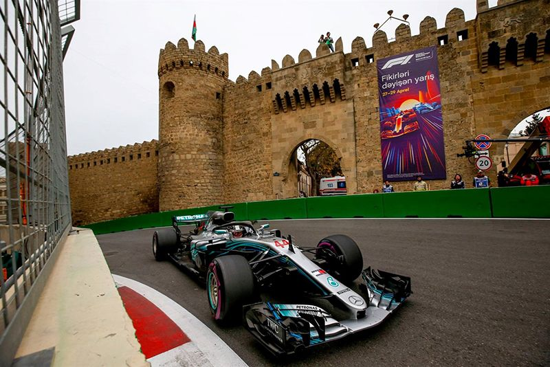 Video: F1: The 2018 Azerbaijan Gp Injects Some Much-needed Excitement – Finally! 1