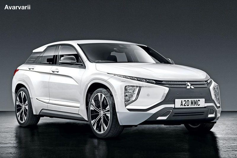 Extreme Crossover Styling For The New Mitsubishi Lancer 1