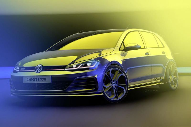 New Volkswagen Golf Gti Tcr Suspected To Debut At Wörthersee 1