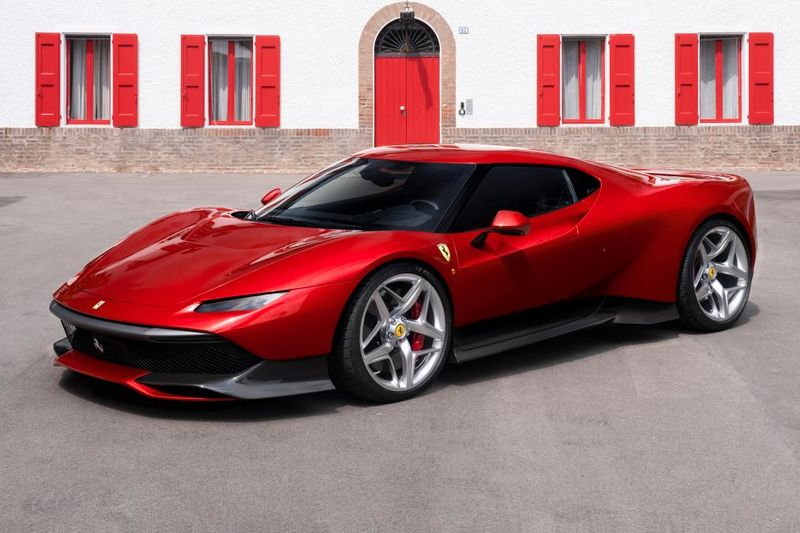 Ferrari Sp38 One-off Special Revealed – And It