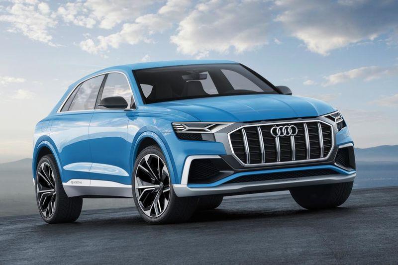 New 2018 Audi Q8 Suv Teased Ahead 5 June Reveal 1