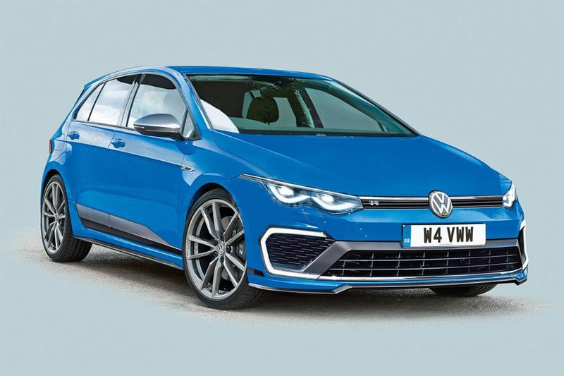 New 2020 Volkswagen Golf R To Be The Fastest Ever With 400bhp 1