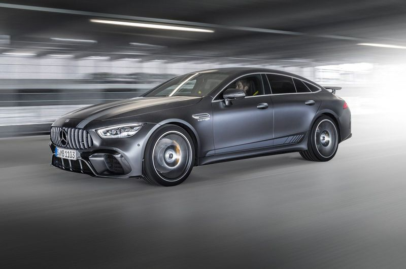 Mercedes Debuts Amg Gt 4-door Coupe Edition 1 Limited Release 1