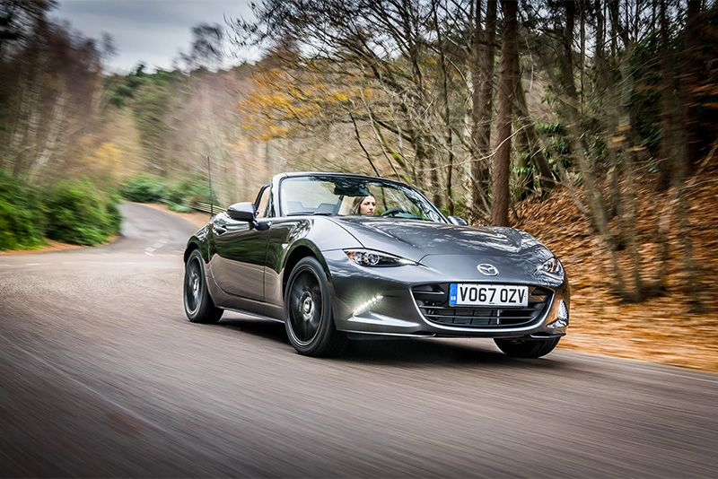 2018 Mazda Mx-5 Gets Upgrades And More Power 1