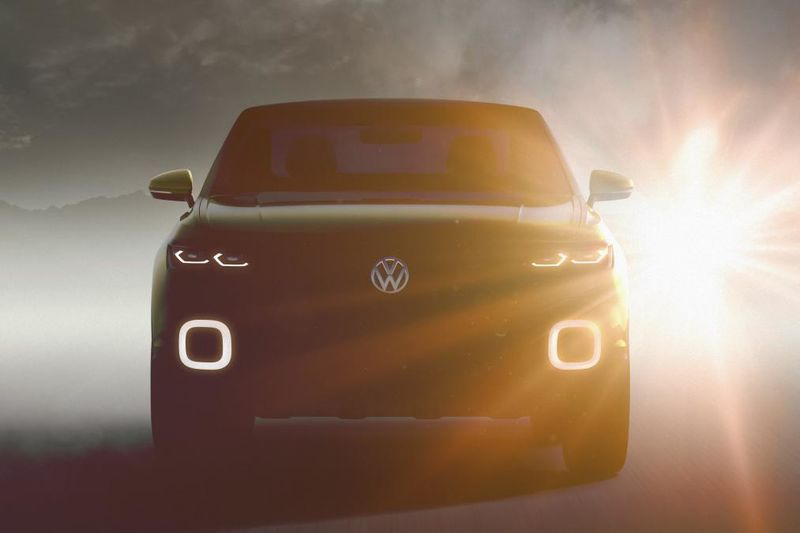 New 2018 Volkswagen T-cross Suv Revealed 1