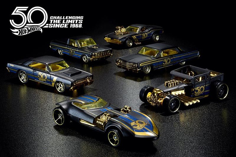 50 Years Of Hot Wheels Glory 1