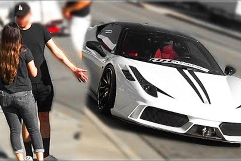 Trading A Ferrari For His Girlfriend? (A Social Experiment) 1