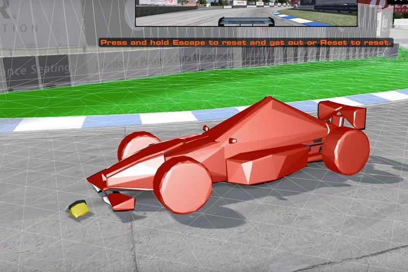 How Video Game Designers Create Car Damage 1