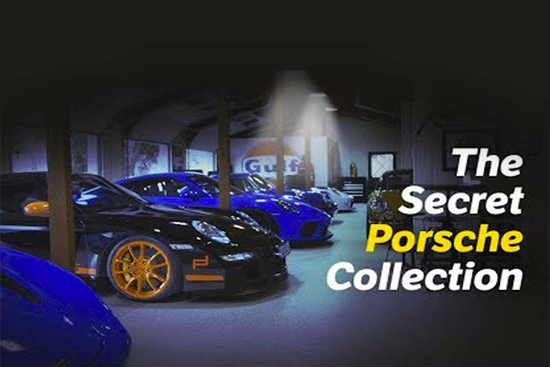 Lady With Secret Porsche Collection Will Blow Your Mind 1