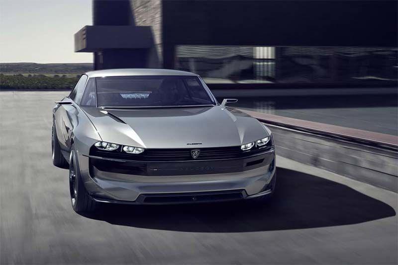 Peugeot e-LEGEND Concept Is Futuristically Retro 1