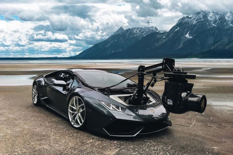 Crazy Camera Set Up On A Lamborghini Huracan 1