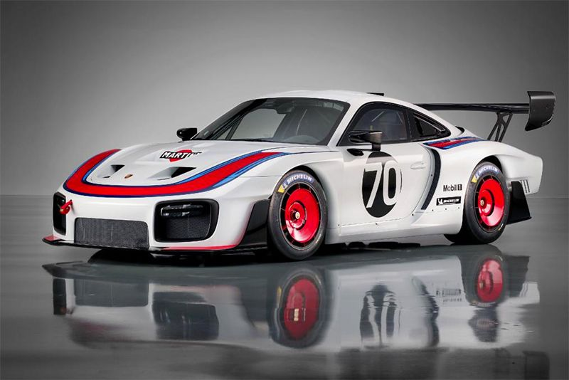 Porsche celebrates their 70th with the 935 Le Mans tribute 1