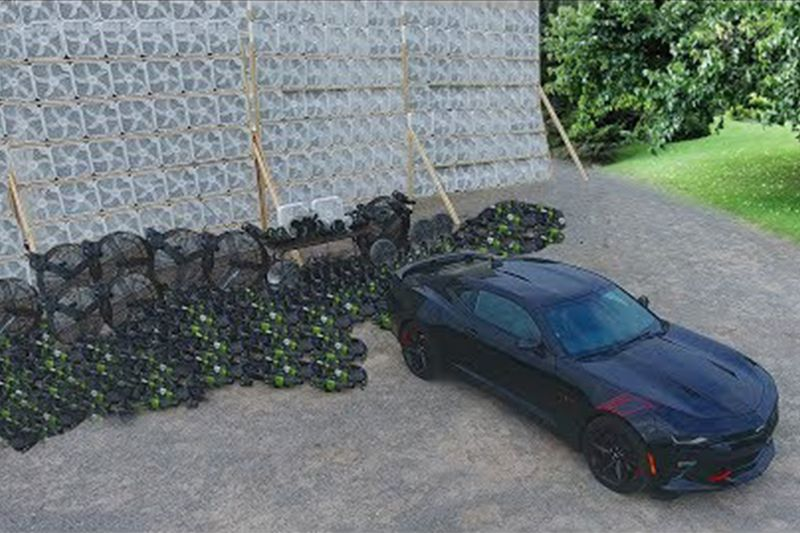 Can 1,000 Electric Fans Push A Car? 1