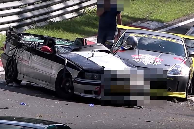 Crash And Fail At The Nurburgring – A Compilation 1