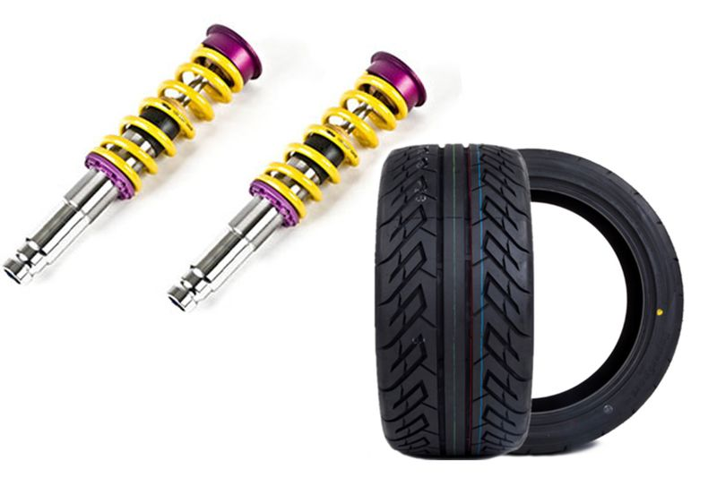 Coilovers VS Tyres – which option makes your car faster? 1