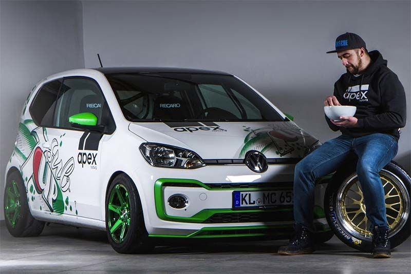 Killing the Nurburgring in a VW Up! – The Apex Sub 7UP is a monster 1