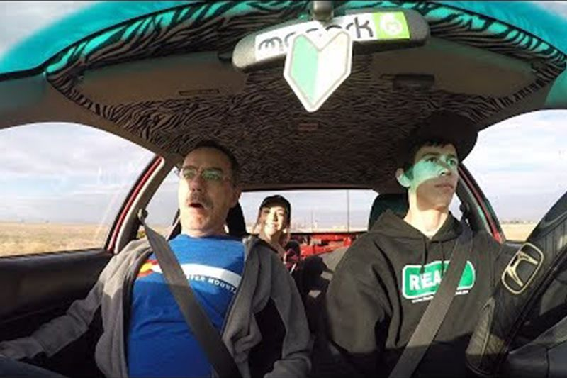 Hilarious 700hp Honda Civic Reactions 1