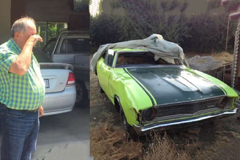 Parents Reaction To Son Restoring A 45 Year-Old Ford 1