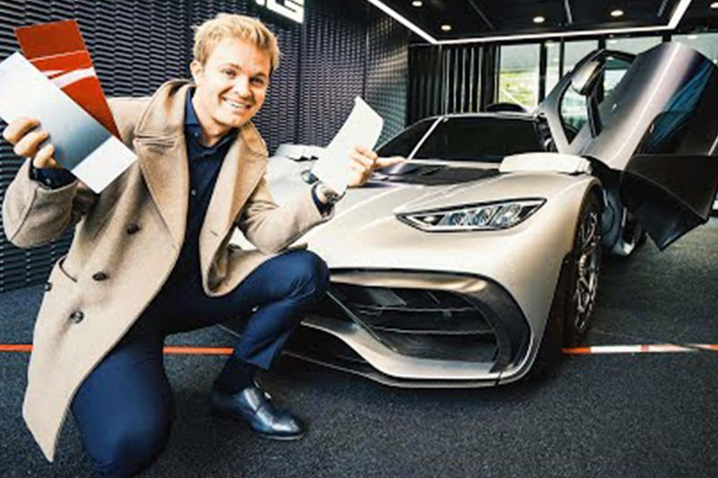 Nico Rosberg Customises His AMG Project One 1