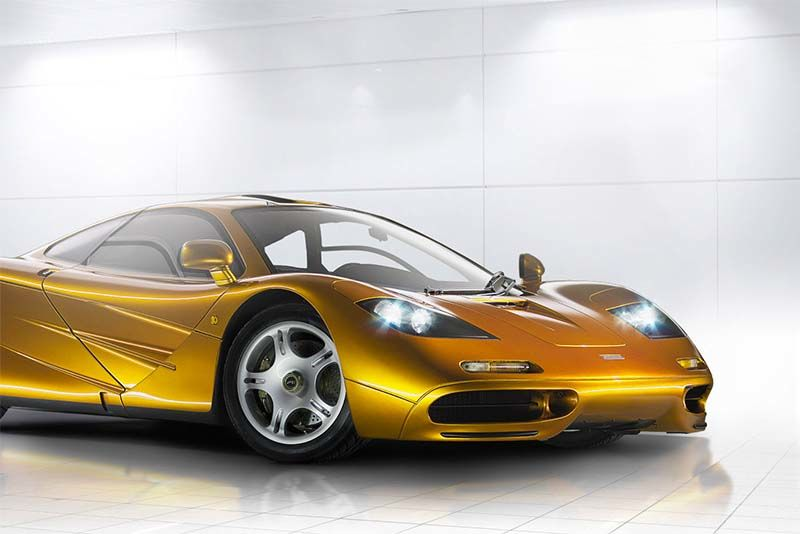 A Tribute To The McLaren F1 1