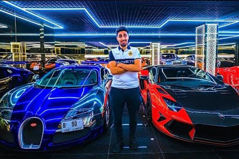 Check Out The Most Expensive Garage In Dubai 1