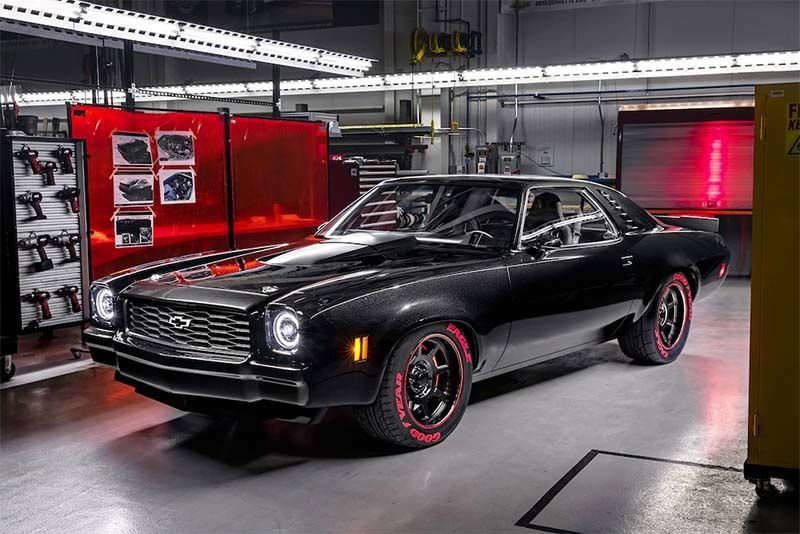 Chevy Now Crates Its 755hp Corvette Engine – Shoves It In A 1973 Laguna 1