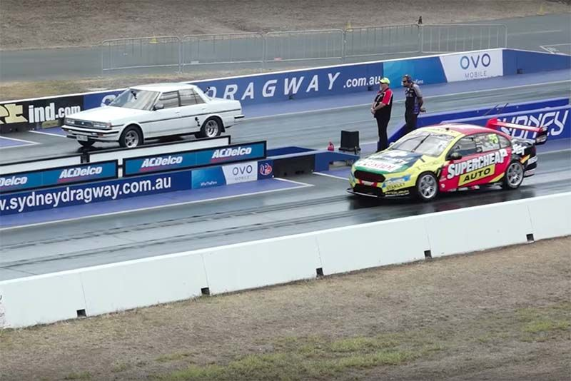 Modified Streetcars vs V8 Supercar – Let