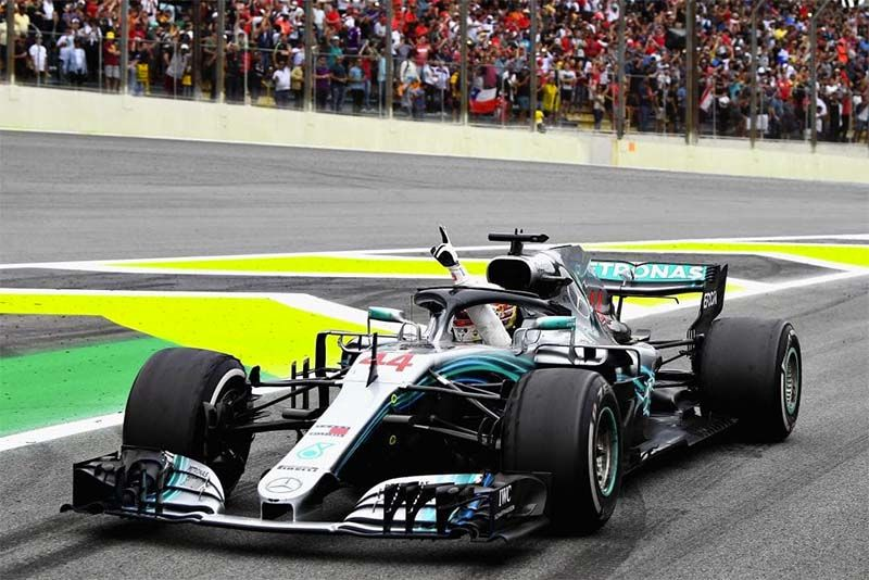 Hamilton Wins In Brazil As Verstappen And Ocon Collide 1
