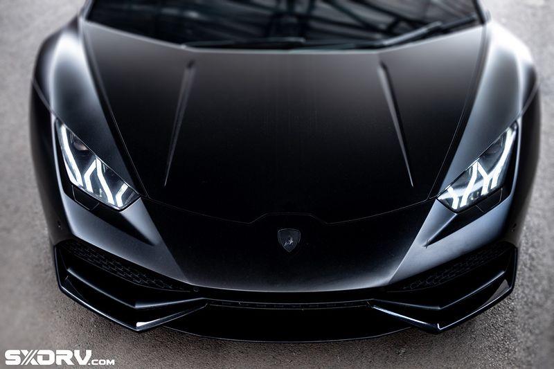Reconstructed Satin Black Lamborghini Huracan 1