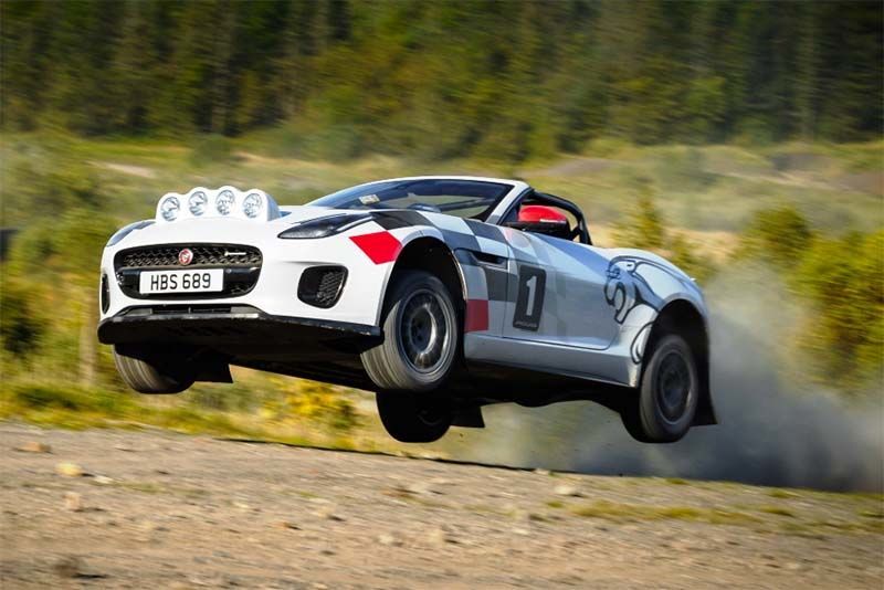 Jaguar Goes Rallying With Its Convertible F-Type 1