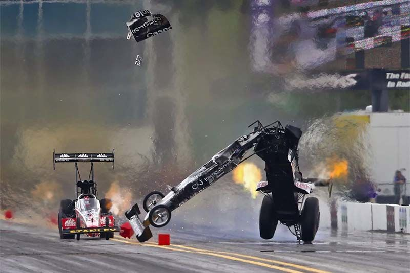 Drag Racing Crashes That