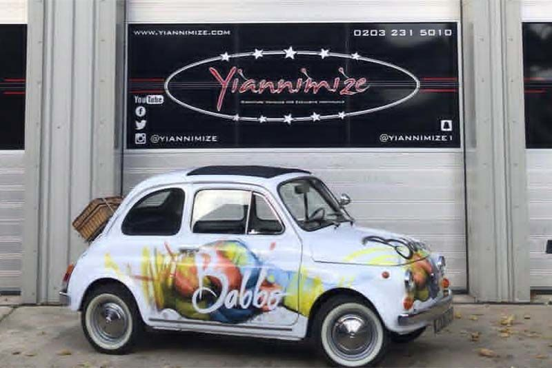 Classic Fiat 500L Gets Wrapped 1