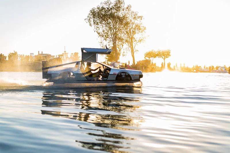 The DeLorean Has Been Reborn... As A Hovercraft 1
